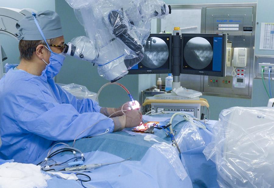 脊椎外科オペ